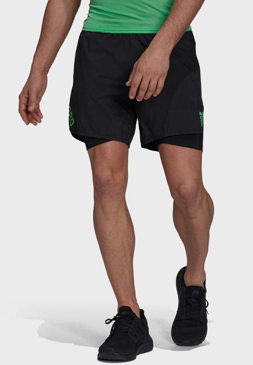 2In1 Adizero Shorts