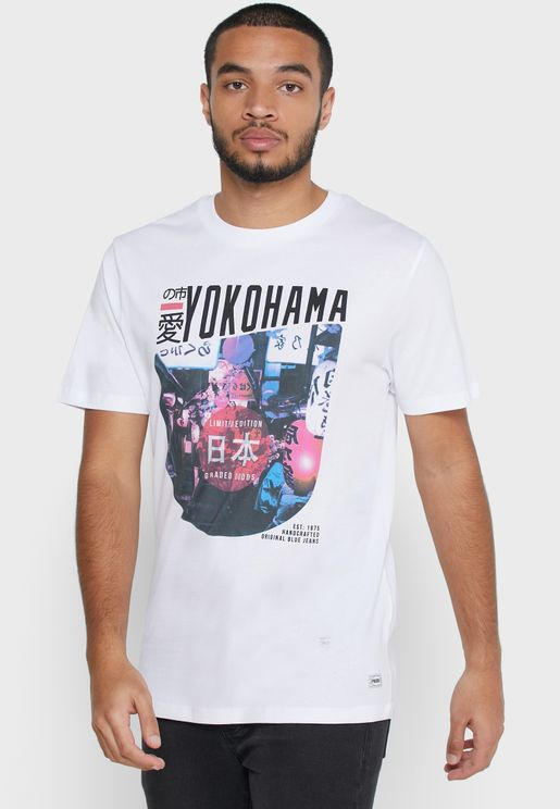 Volume Crew Neck T-Shirt