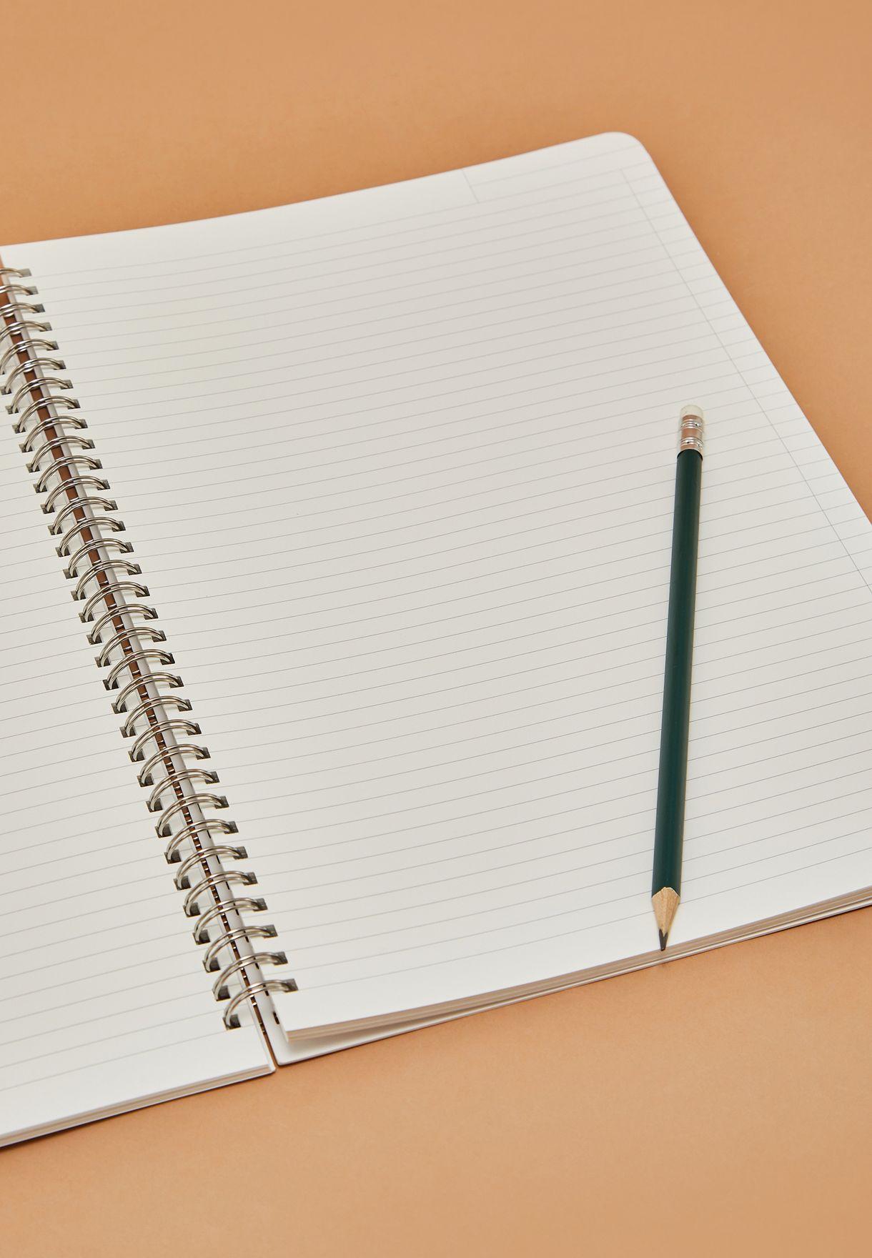 دفتر ملاحظات A4 بطباعة جرافيك