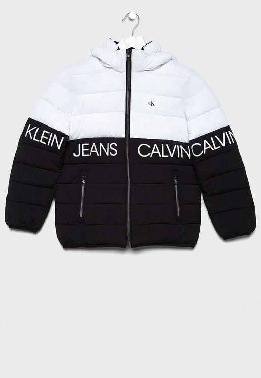 Kids Color Block Jacket