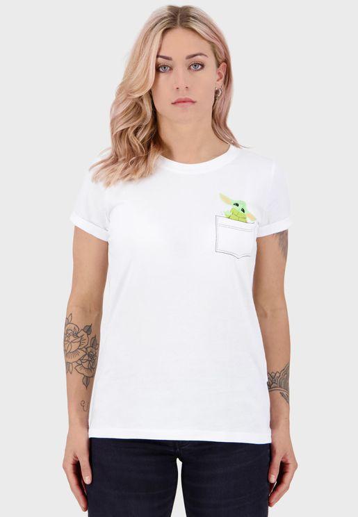 The Mandalorian - Baby Yoda Woman'S T-Shirt