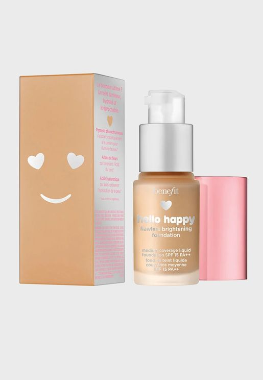 Hello Happy Flawless Brightening Mini Foundation -04