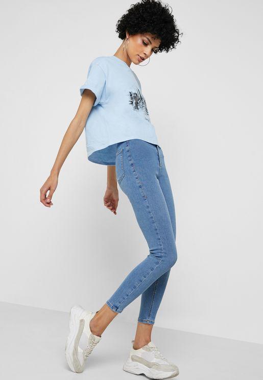 MOTO Joni Ultra High Rise Skinny Jeans