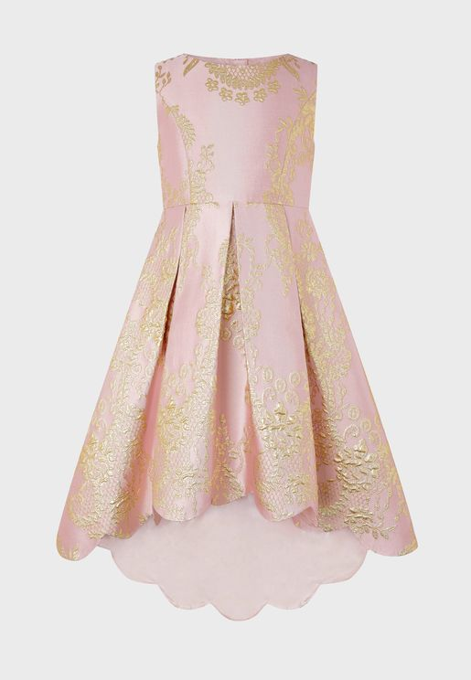 Teen Rebecca Jacquard Dress