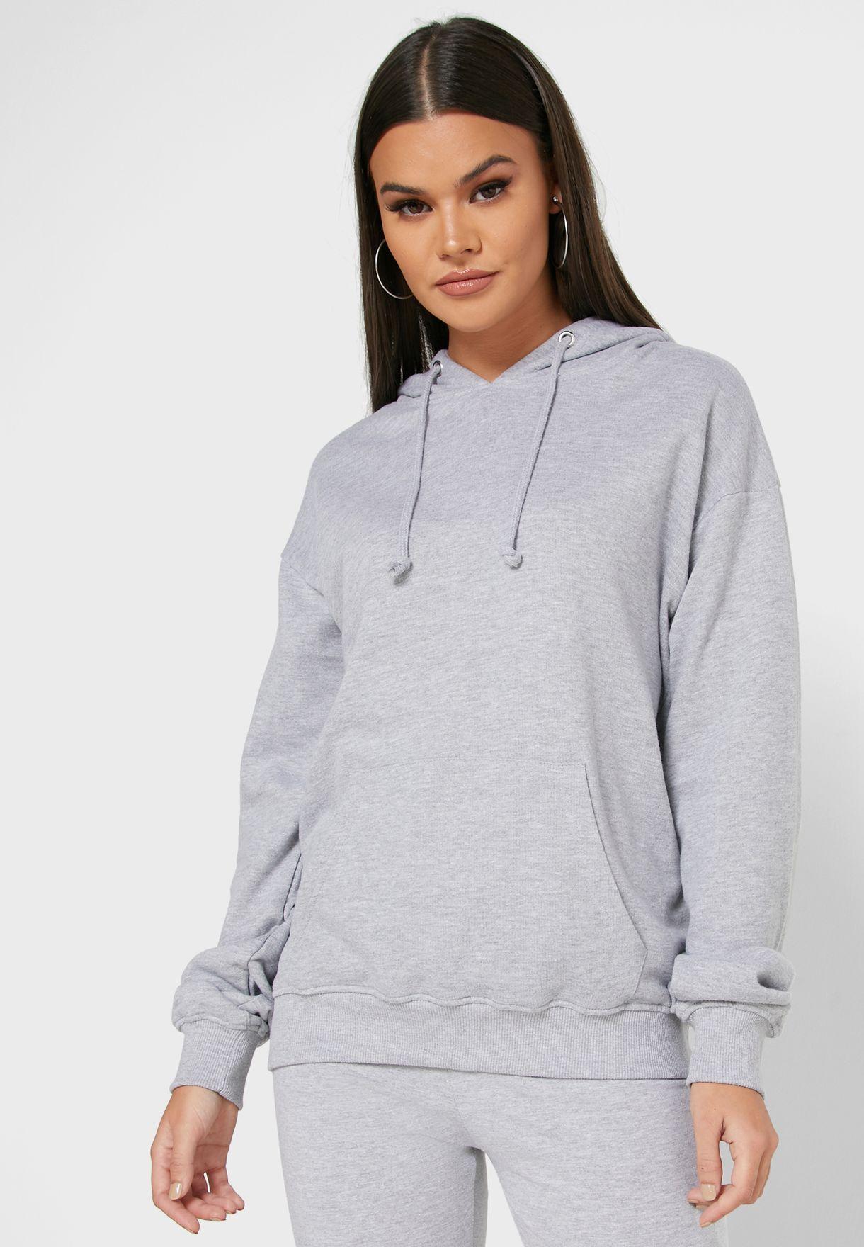 Hooded Sweatshirt & Shorts Set