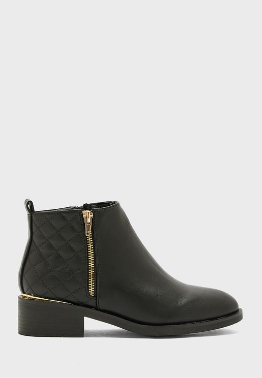 Brucie High Heel Ankle Boot