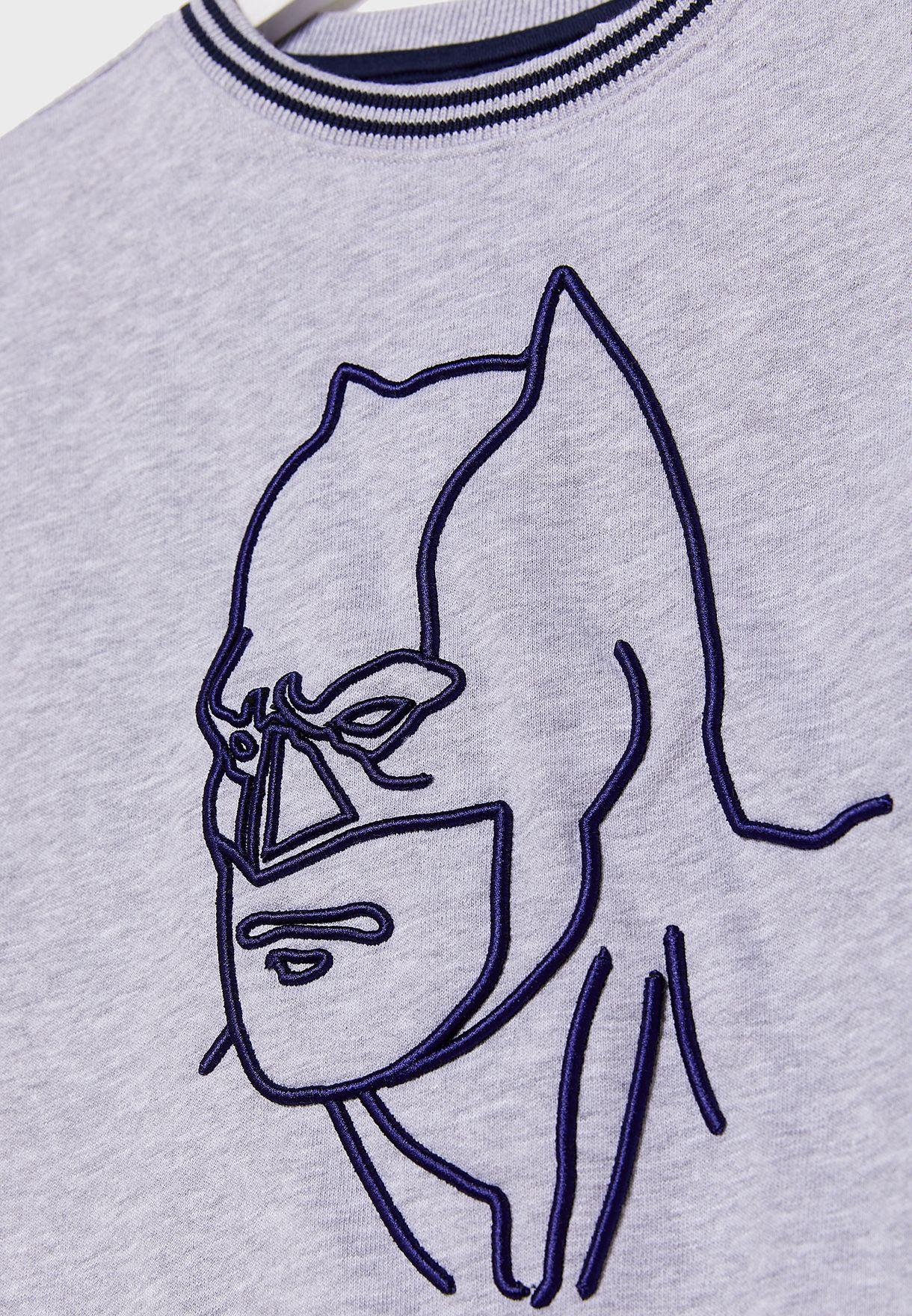 سويت شيرت بطبعة باتمان