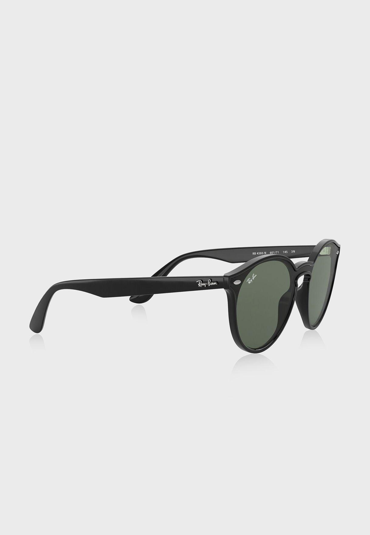 0RB4380N Round Sunglasses