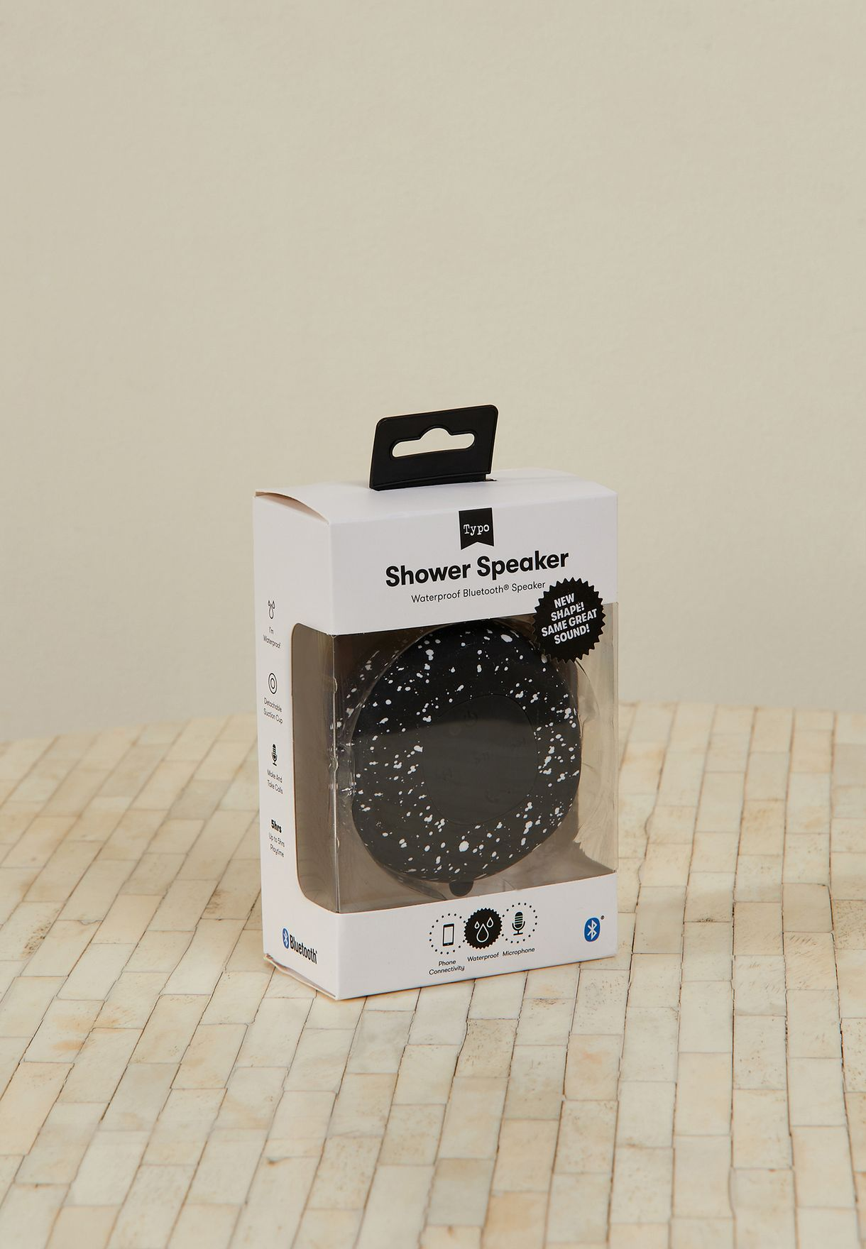 Splatter Shower Speaker