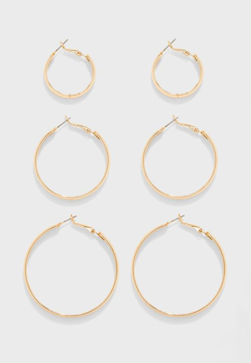 Hoop Earrings Sets