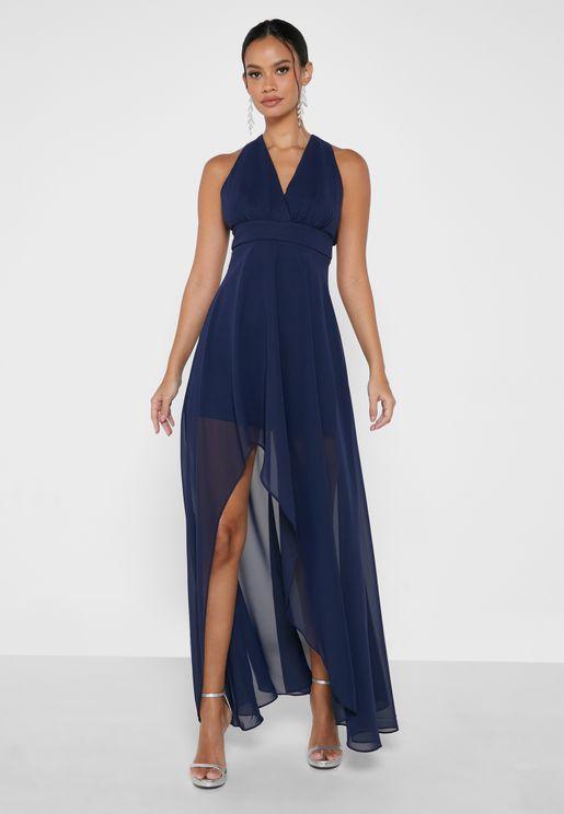 Side Split Asymmetric Dress