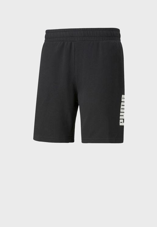 "8"" Power Logo Shorts"