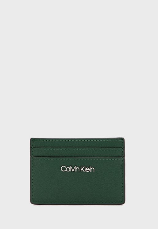 Logo Multi Compartment Card Holder
