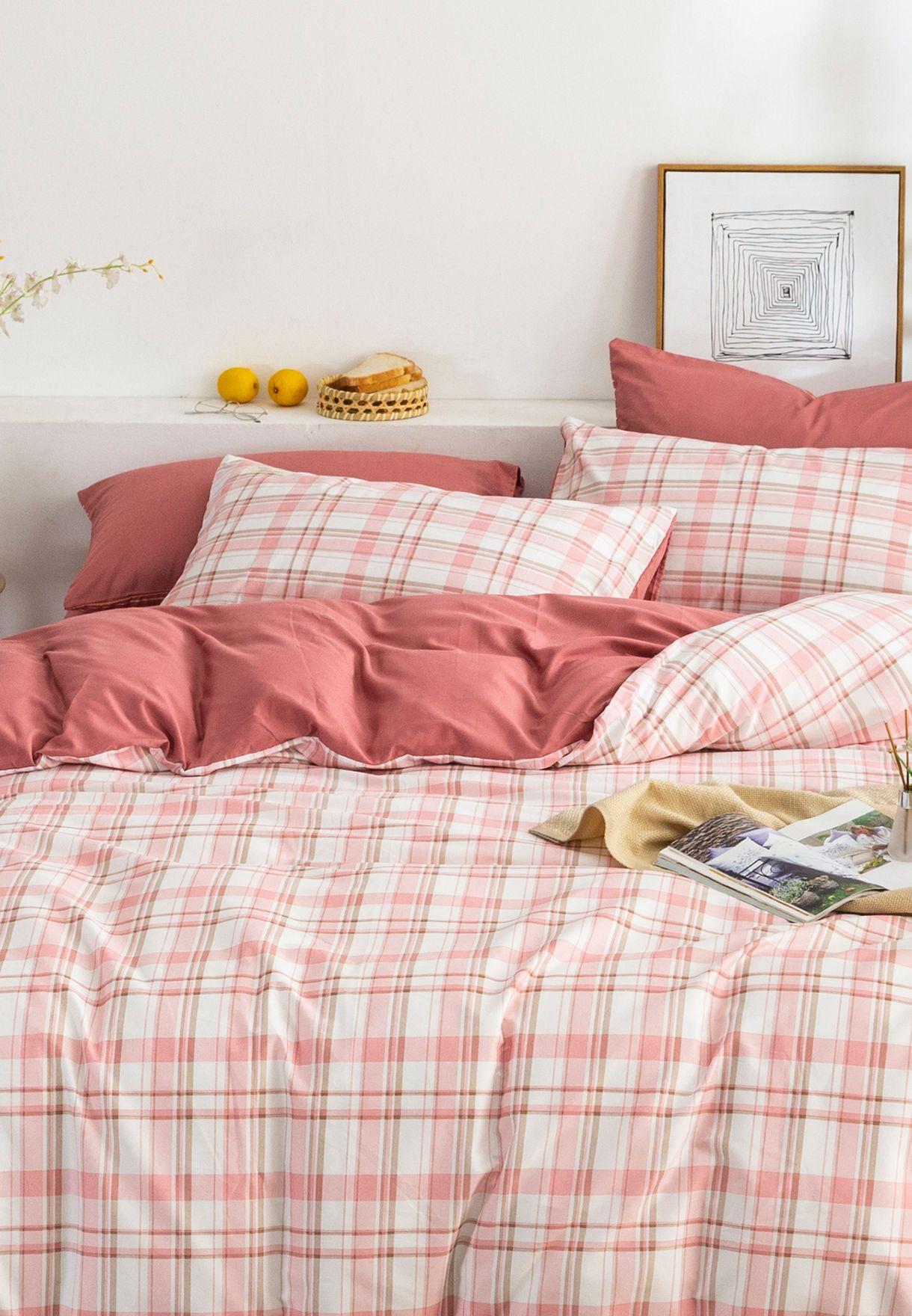 أغطية سرير كبير (4 قطع) 200 x 230 سم