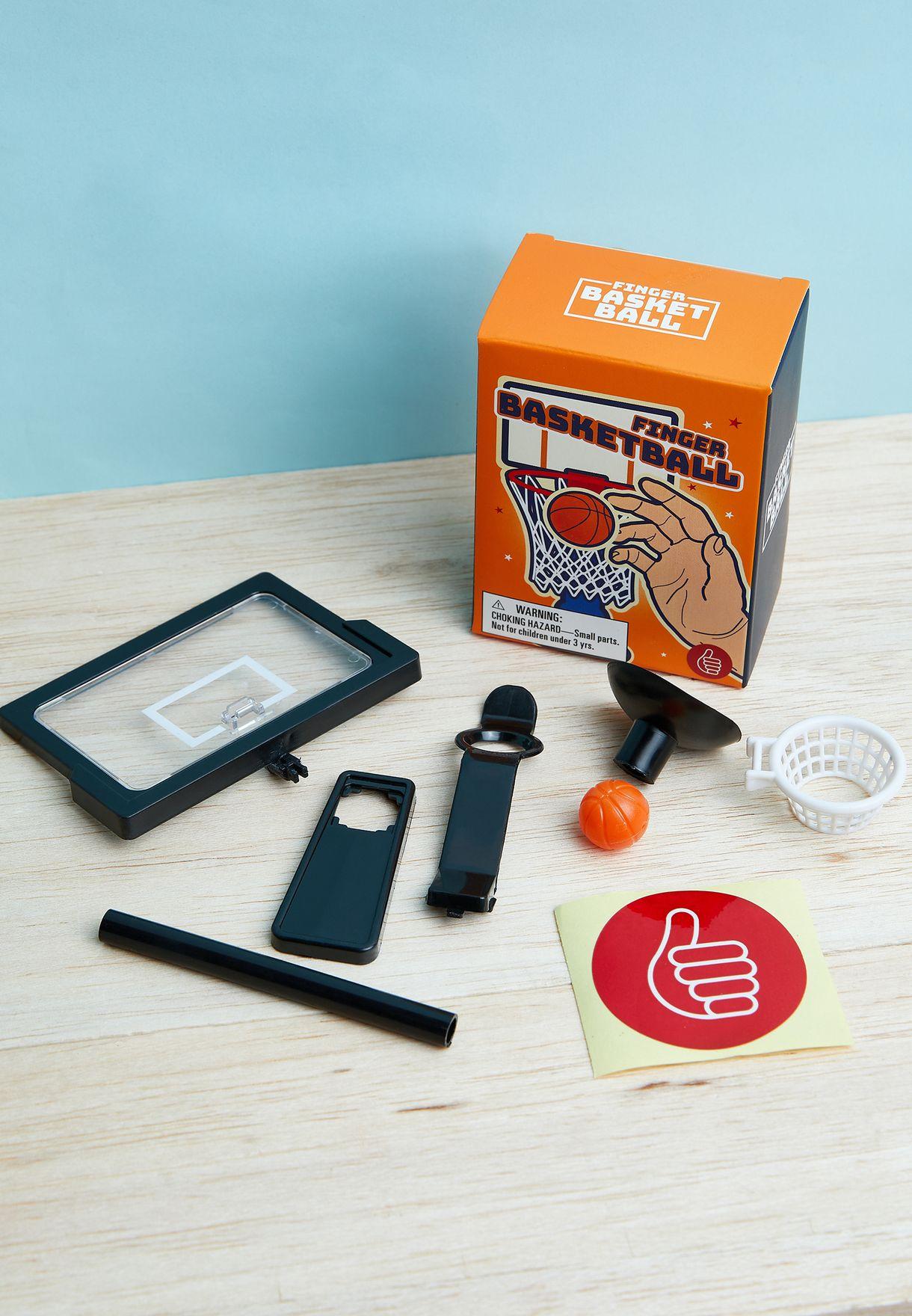 لعبة تصويب كرة السلة باستخدام الاصبع