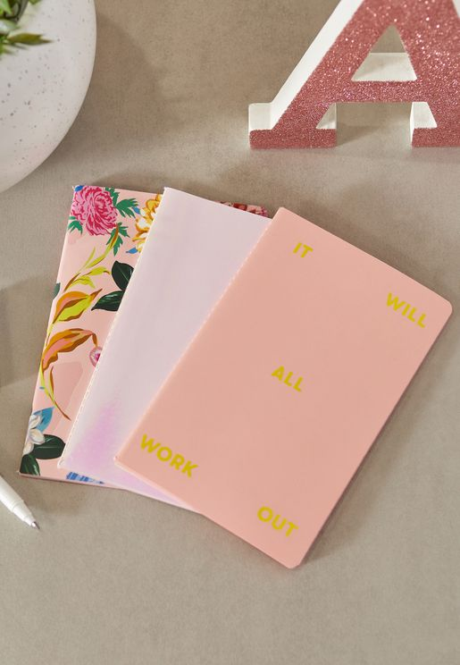 Set Of 3 Notebooks
