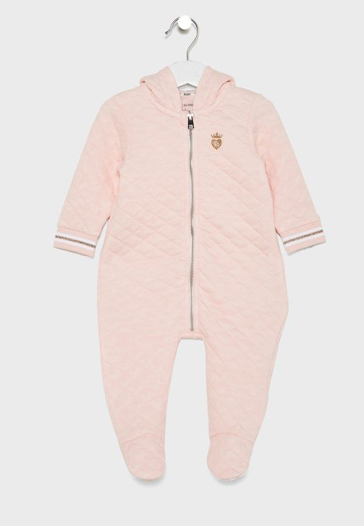 Infant Quilted Romper