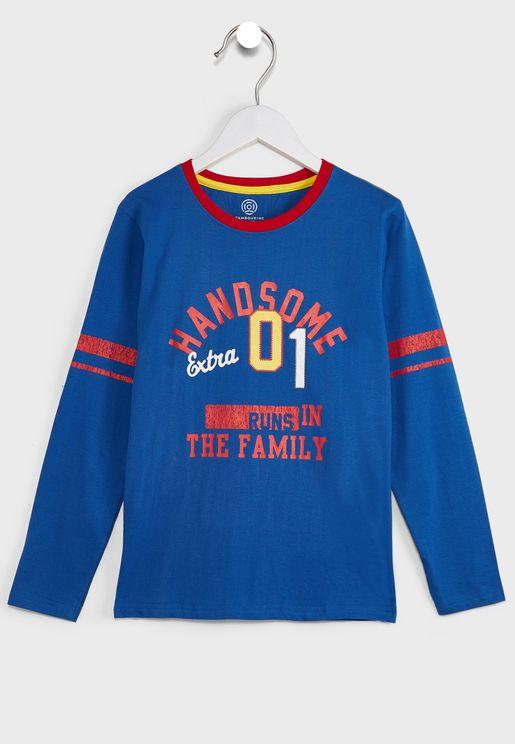 Varsity Long Sleeve T-Shirt