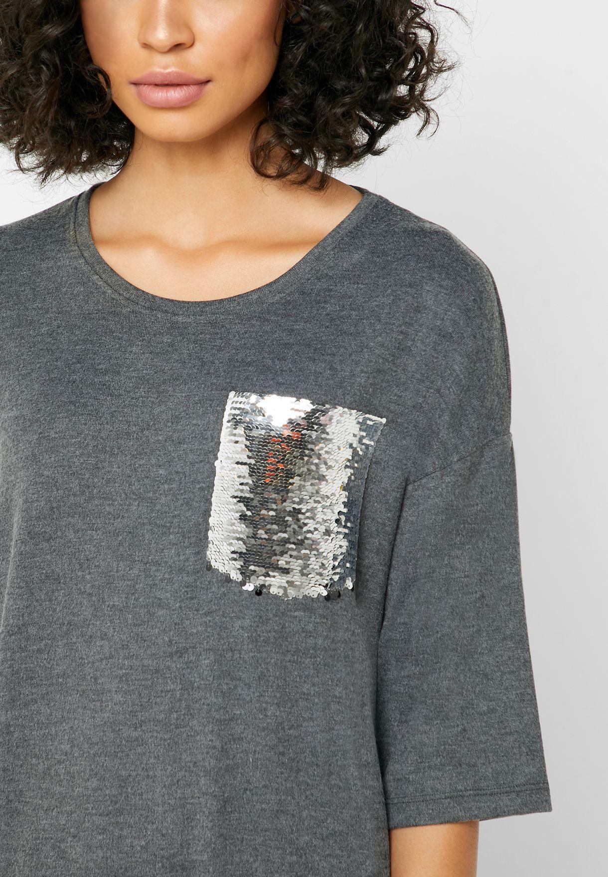 قميص نوم بالترتر