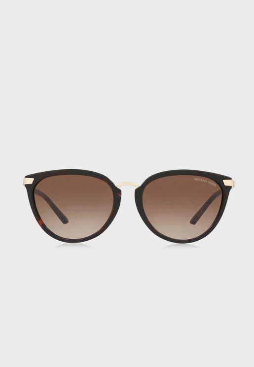 نظارة شمسية مربعة مظللة