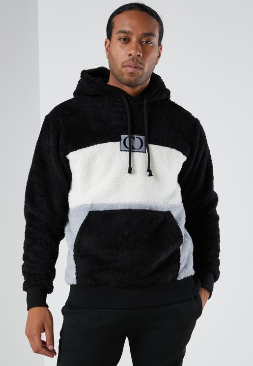 Delli Colour Block Fleece Hoodie