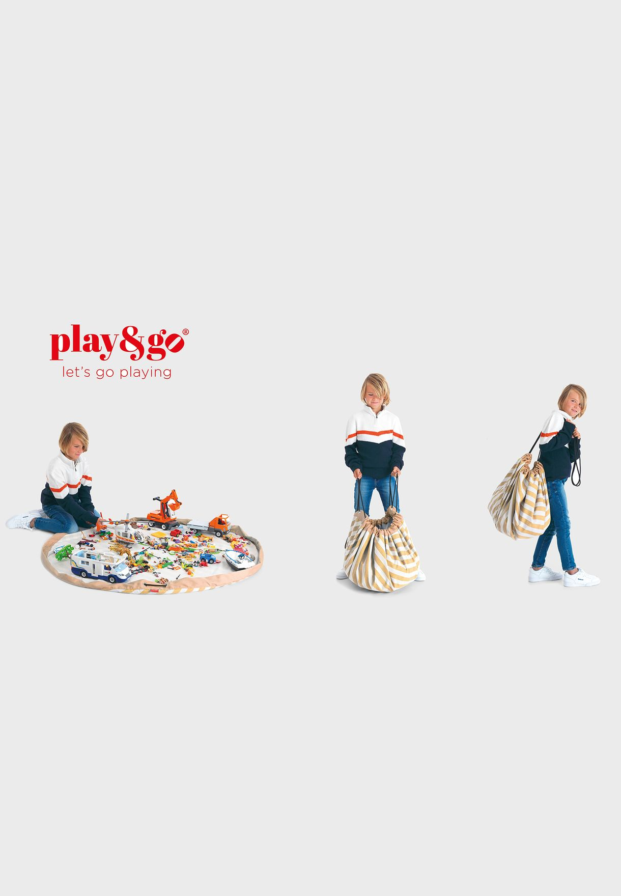 Stripes Playmat & Storage Bag