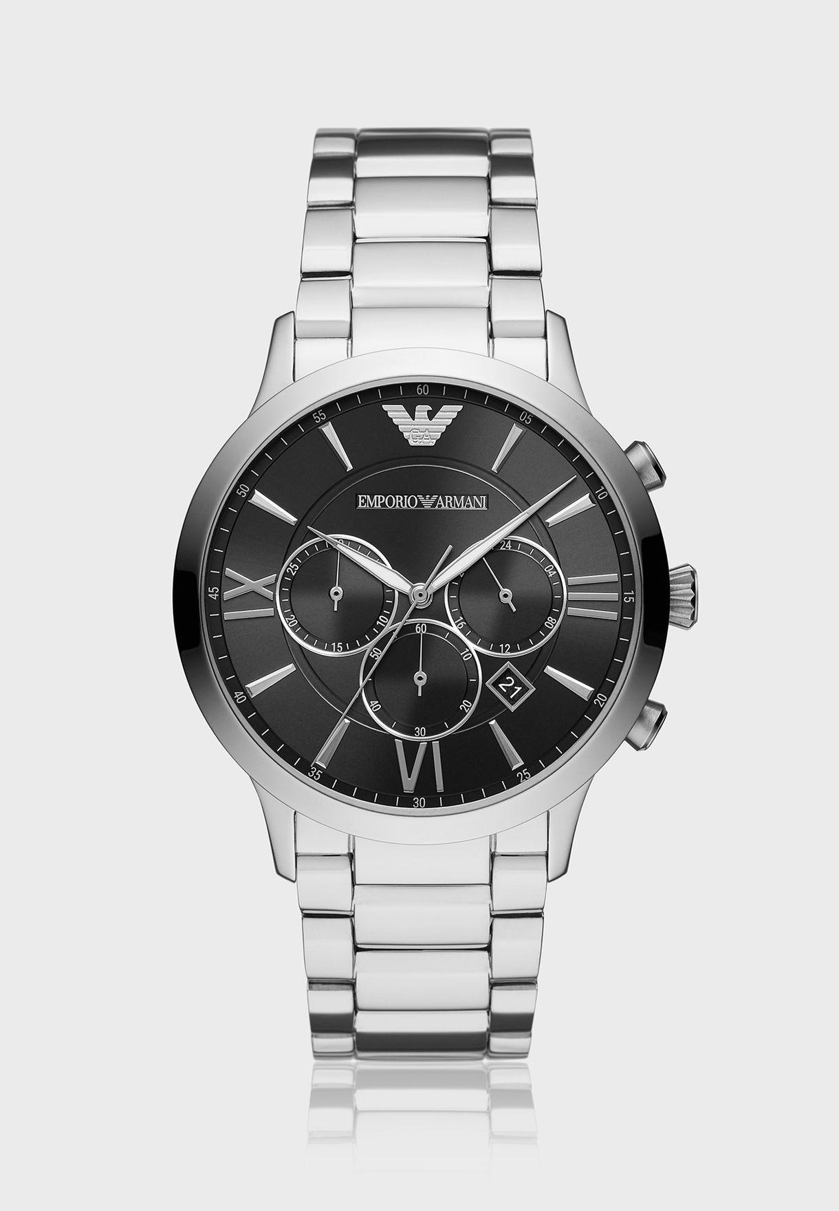 dd35bbc55 تسوق ساعة كلاسيكية AR11208 ماركة امبريو ارماني لون فضي AR11208 في ...