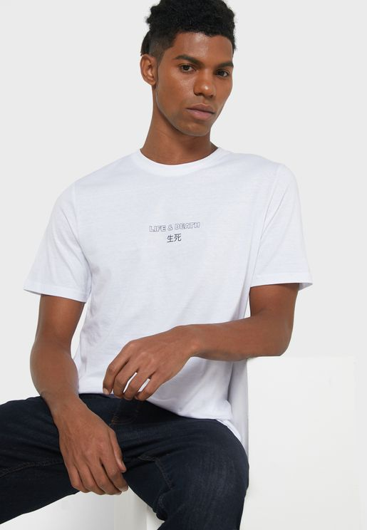 Life & Death Crew Neck T-Shirt
