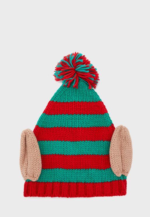 CHRISTMAS ELF NOVELTY HAT