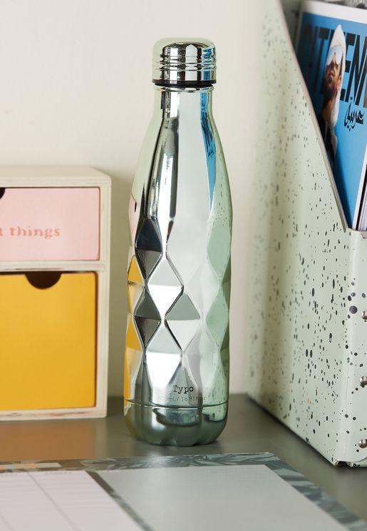 Premium Mint Faceted Drink Bottle