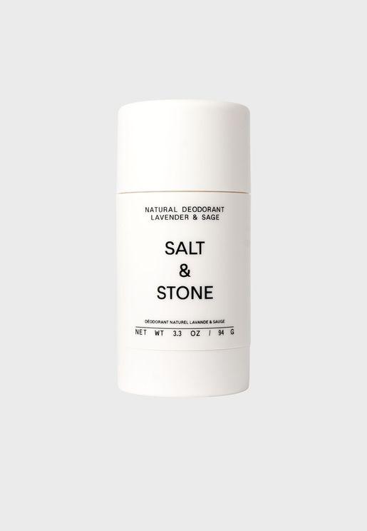 Natural Deodorant - Lavander + Sage