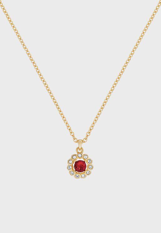 Lramza Daisy Crystal pendant necklace