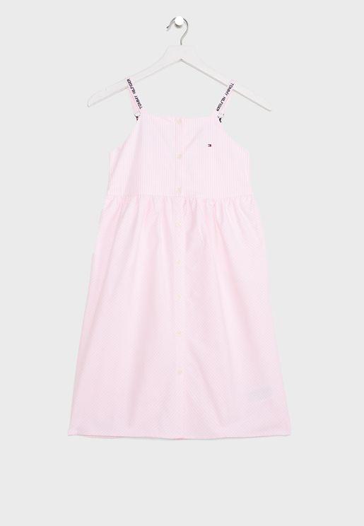 Youth Striped Dress
