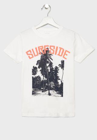 8571d2d3541 Shop Nike black Youth Jordan Wings T-Shirt 955015-023 for Kids in ...