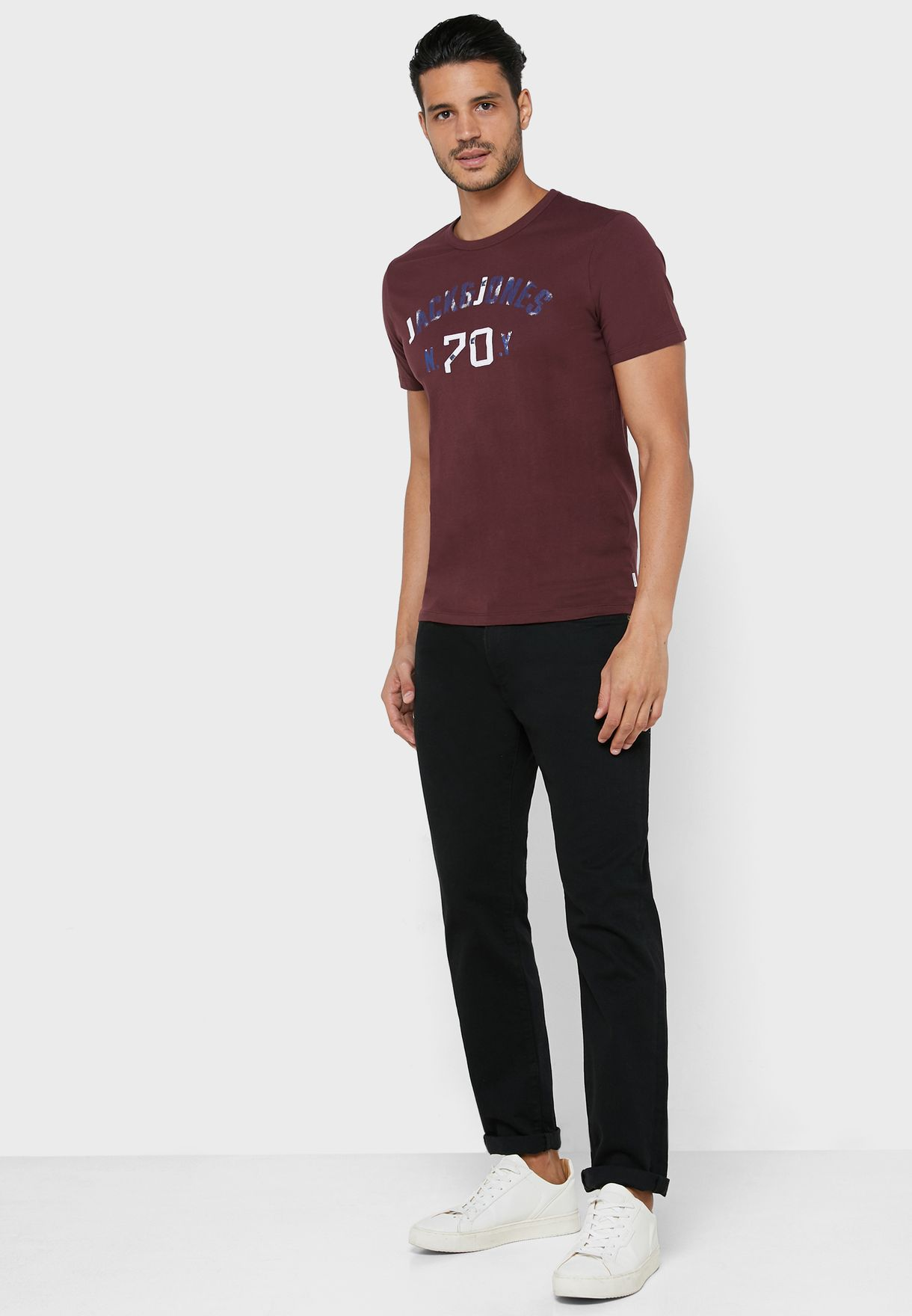 Seth Regular Fit Crew Neck T-Shirt
