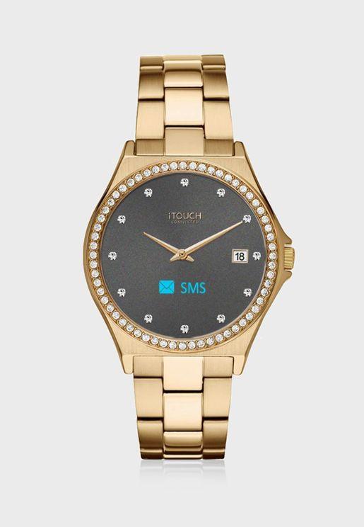 ساعة آي توتش الذكية - معدنية