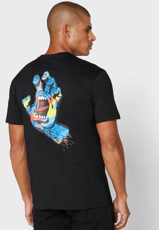 Primary Hand Crew Neck T-Shirt