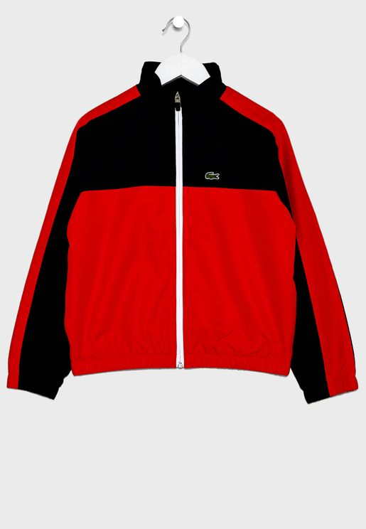 Kids Color Block Track Jacket