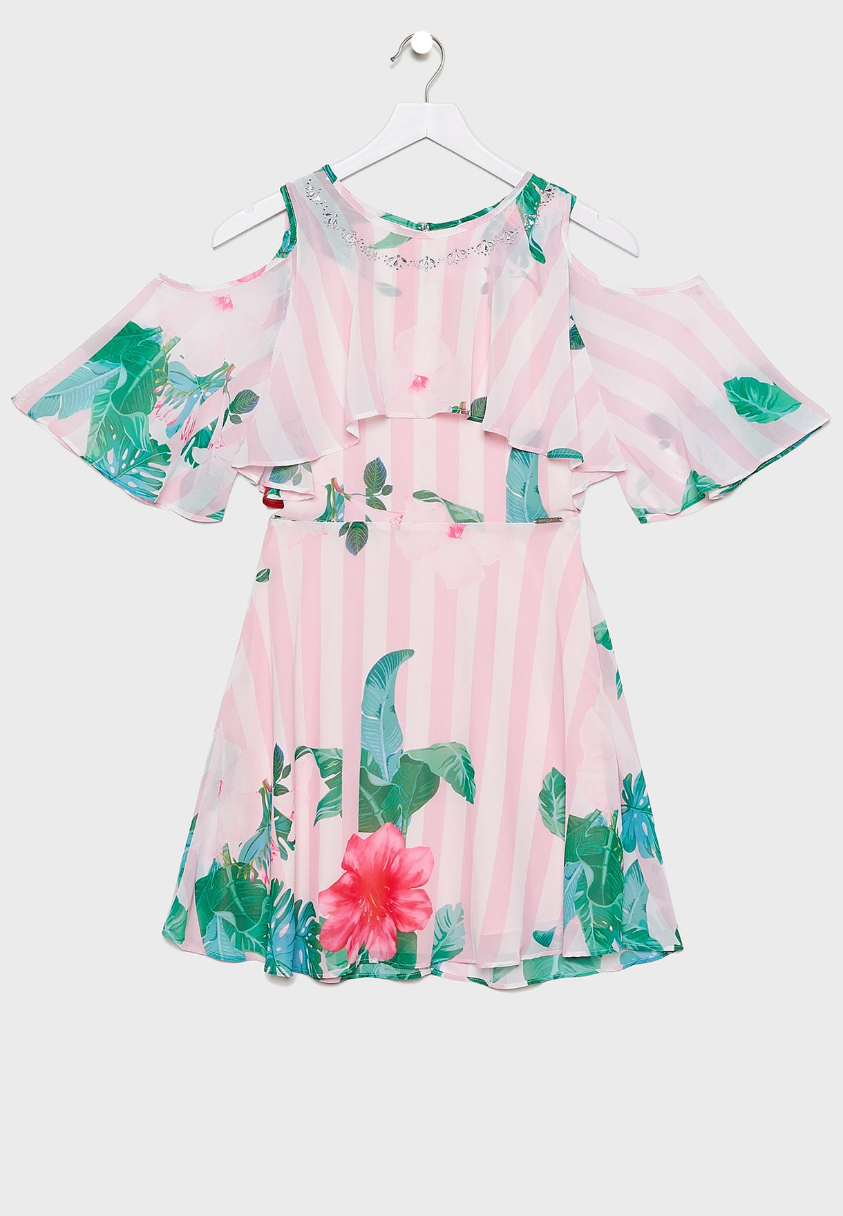Kids Chiffon Floral Dress