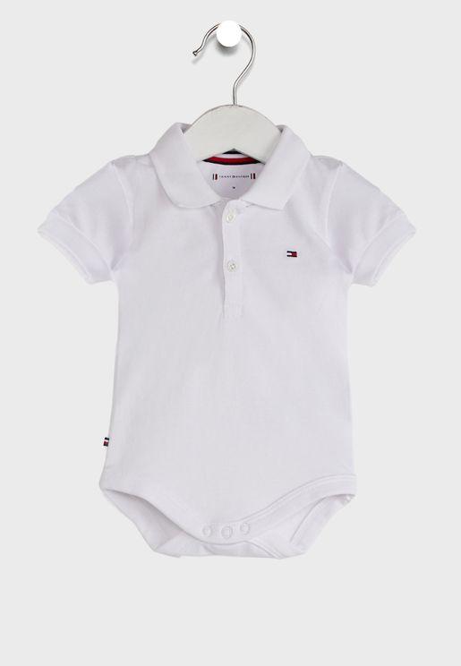 Infant Polo Bodysuit