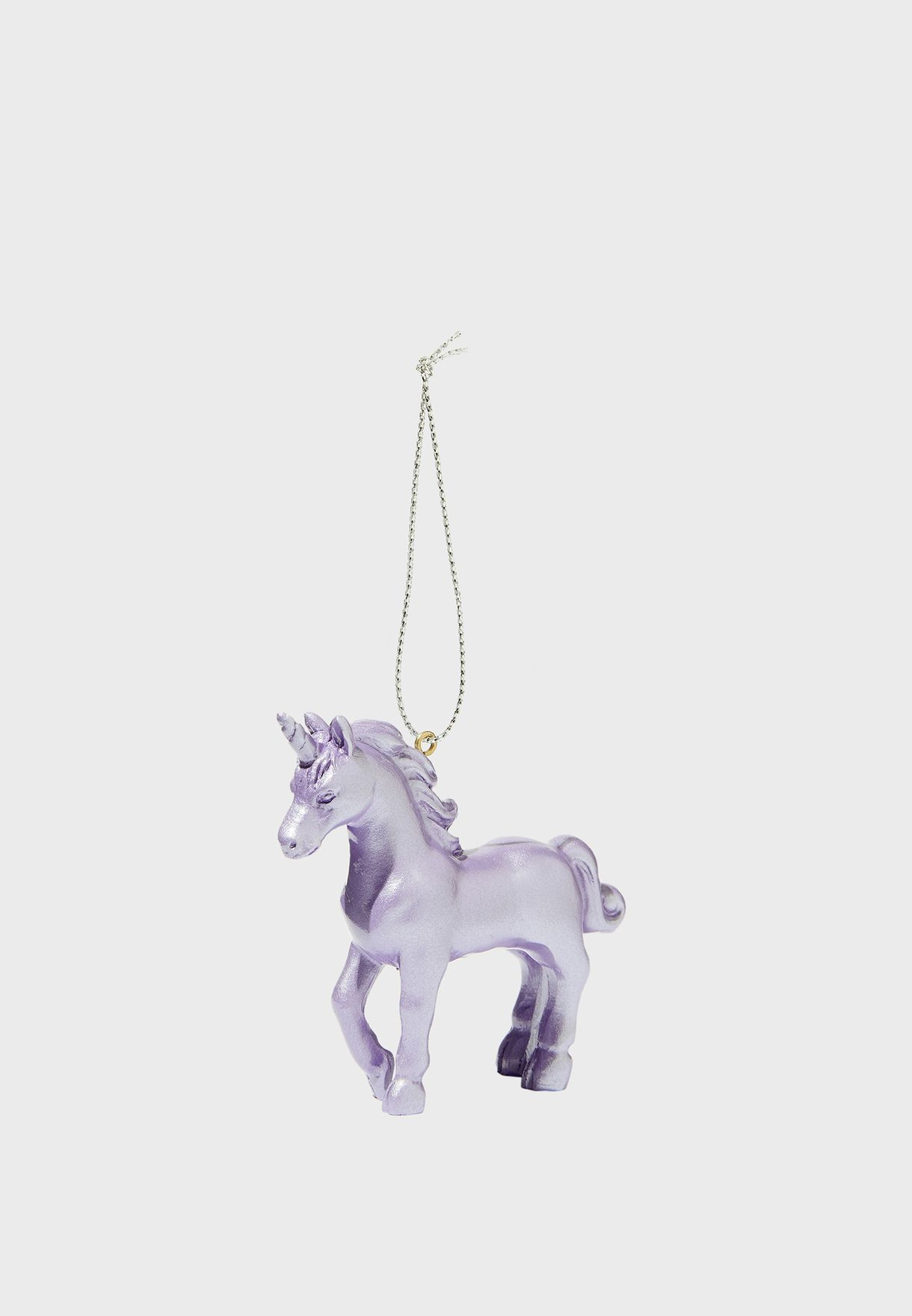 Glittery Unicorn Bauble