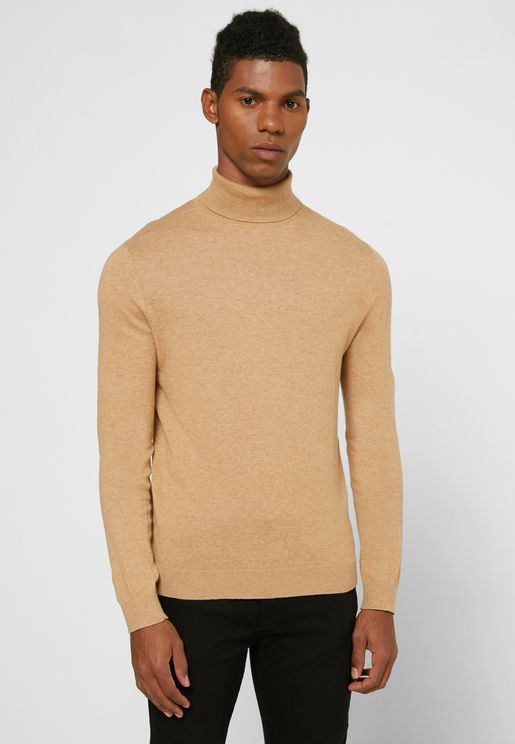 Essential Turtleneck Knitted Sweater
