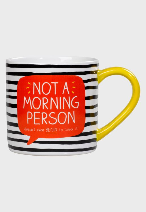 Not A Morning Person Ceramic Mug