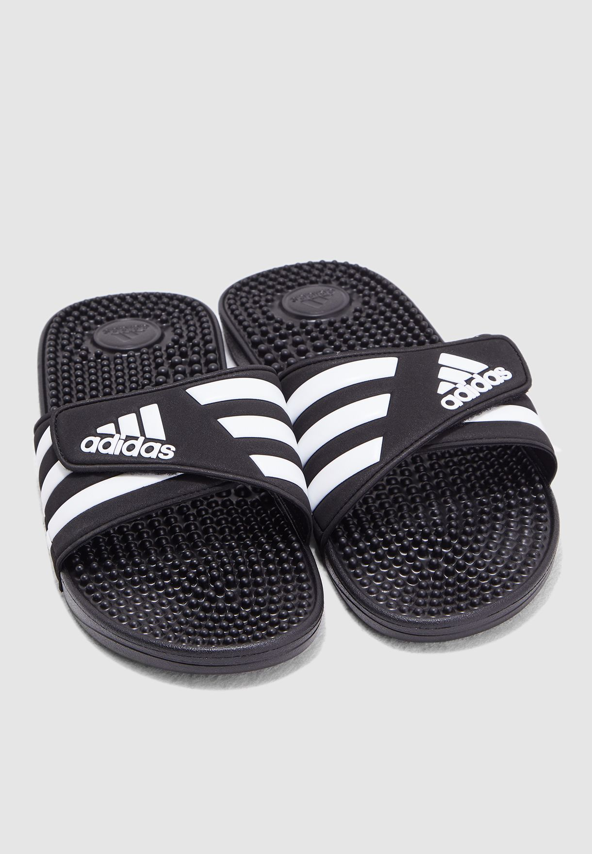 d32a7c2ad Shop adidas black Adissage Slides F35580 for Men in UAE - 14448SH99HBP