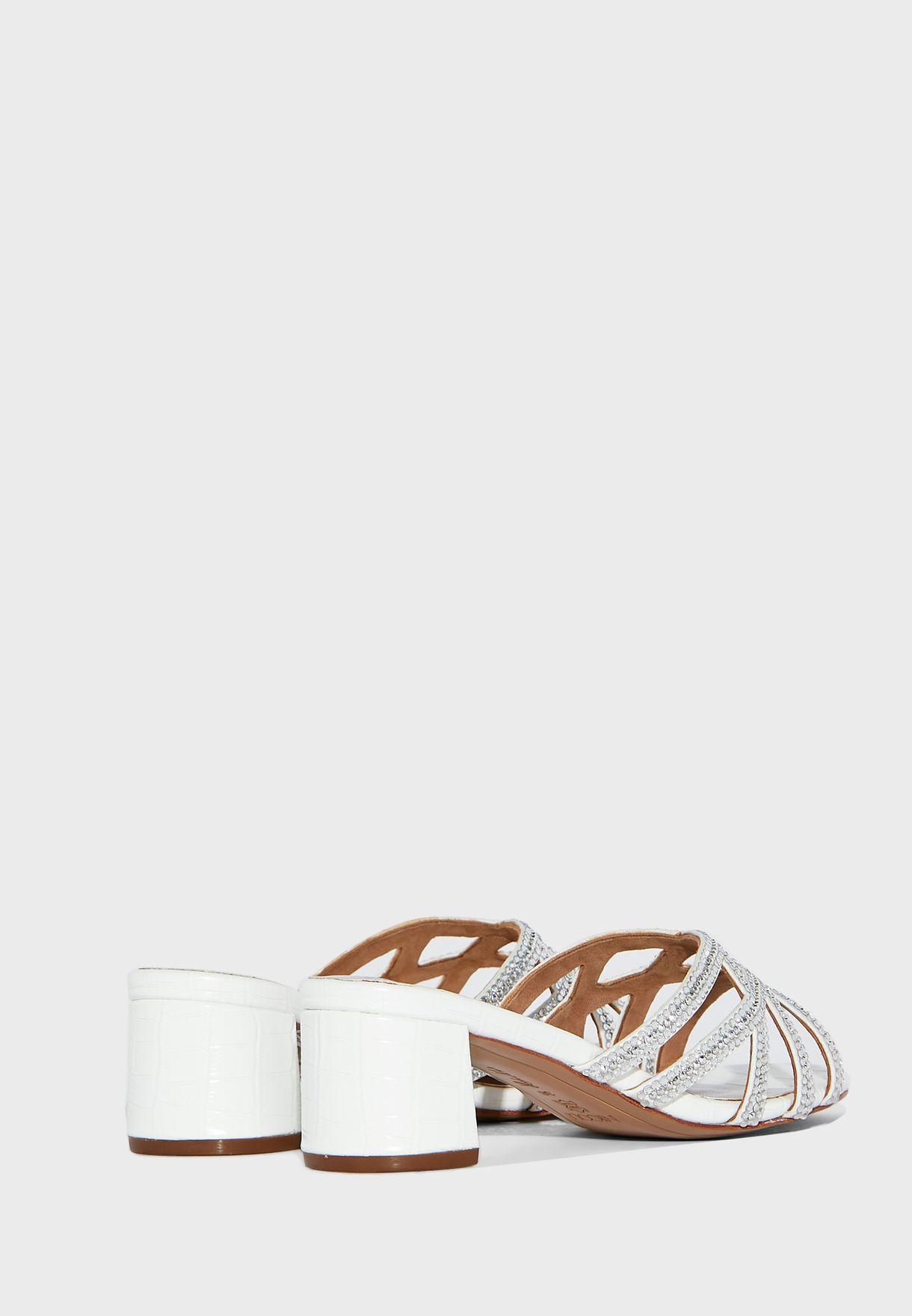 Amos Mid-Heel Sandals