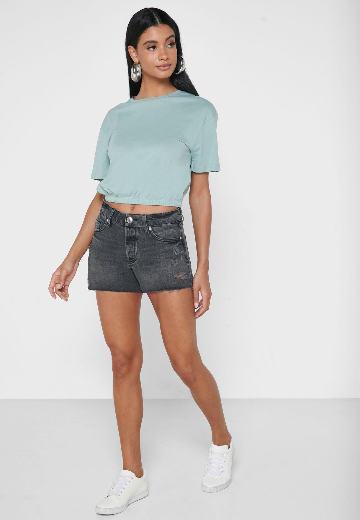 Hannah Denim Shorts