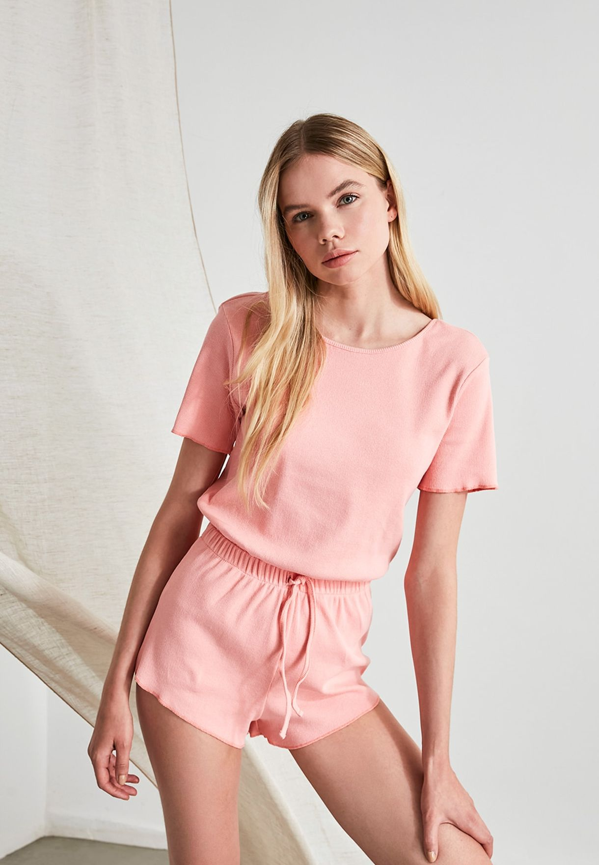 Drawstring Detail Playsuit
