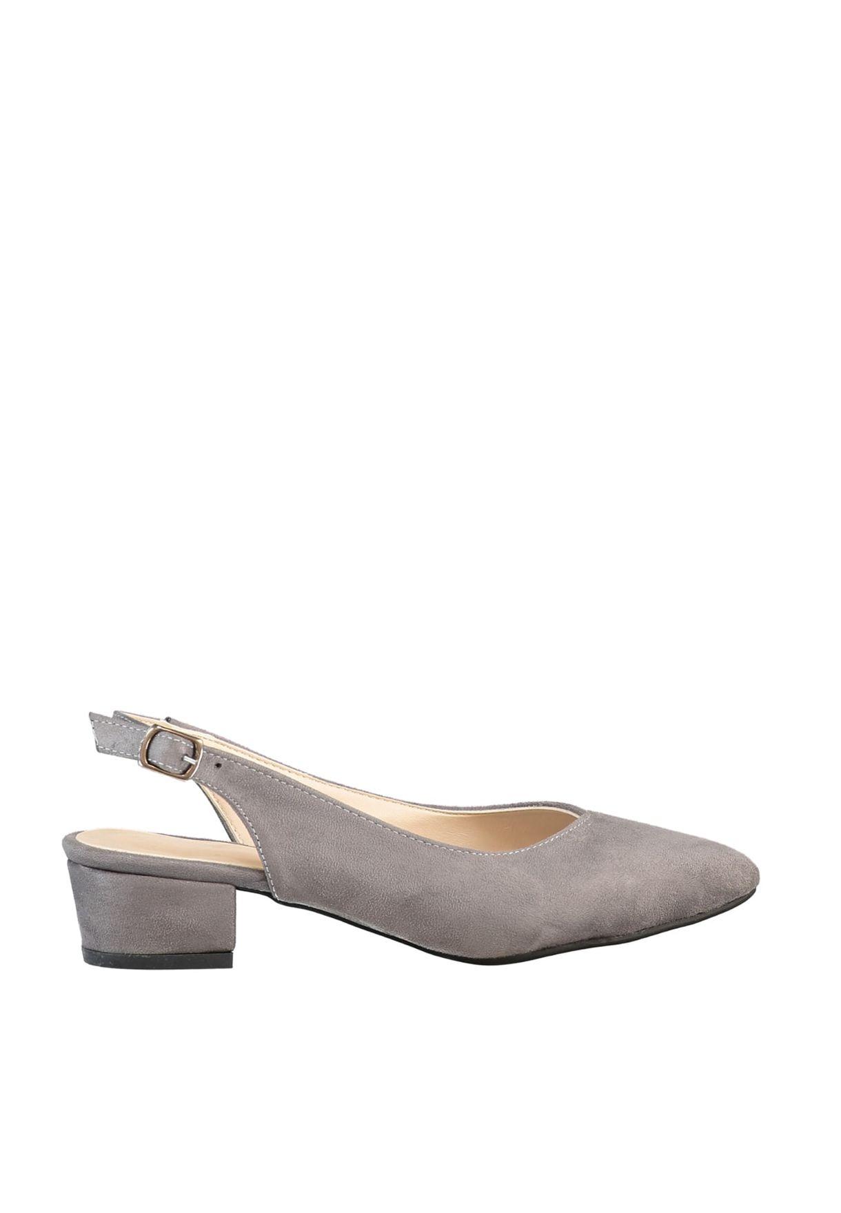 Trendyol Sling Back Block Heel Pump - Brand Shoes