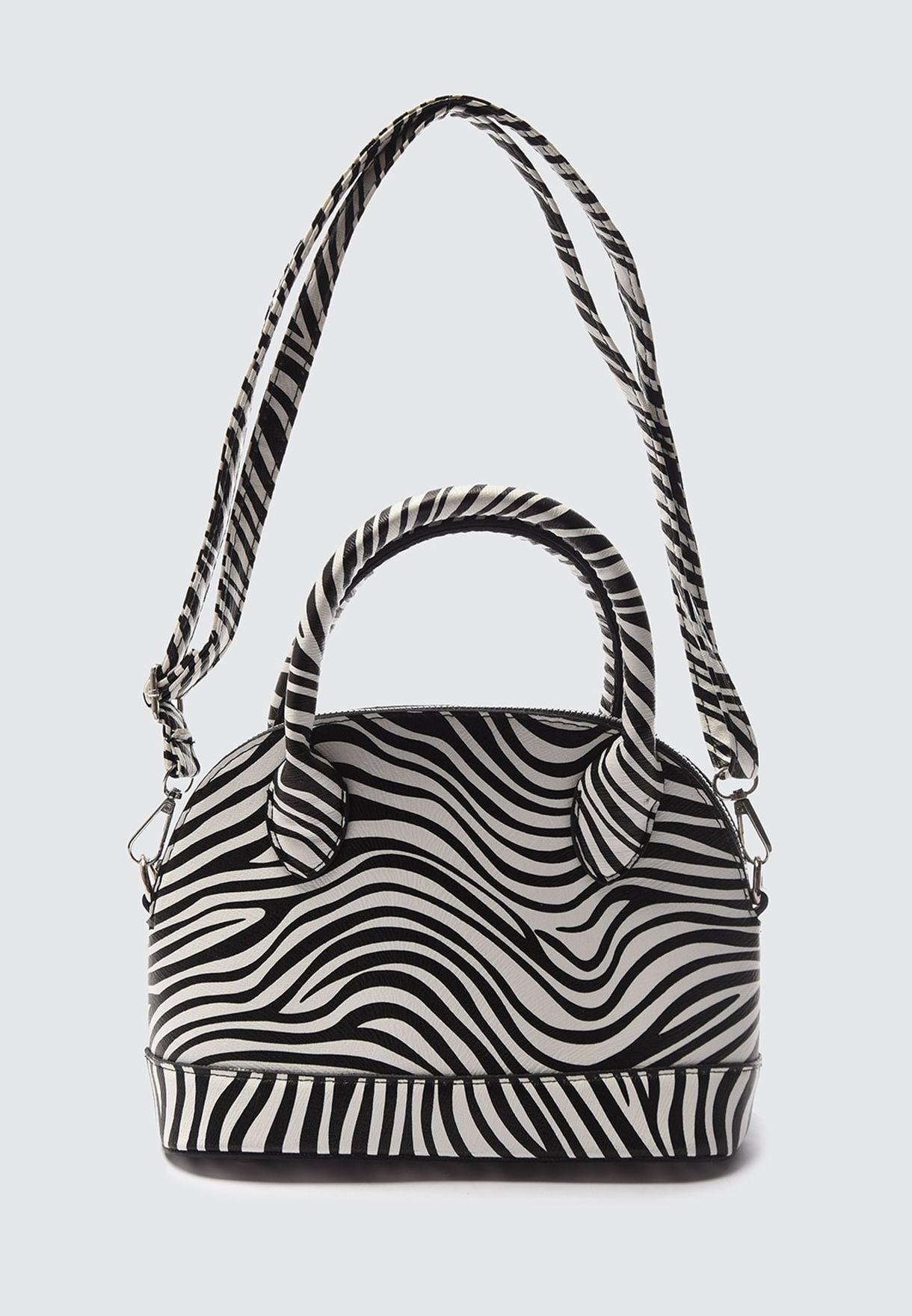 Printed Satchel Bag