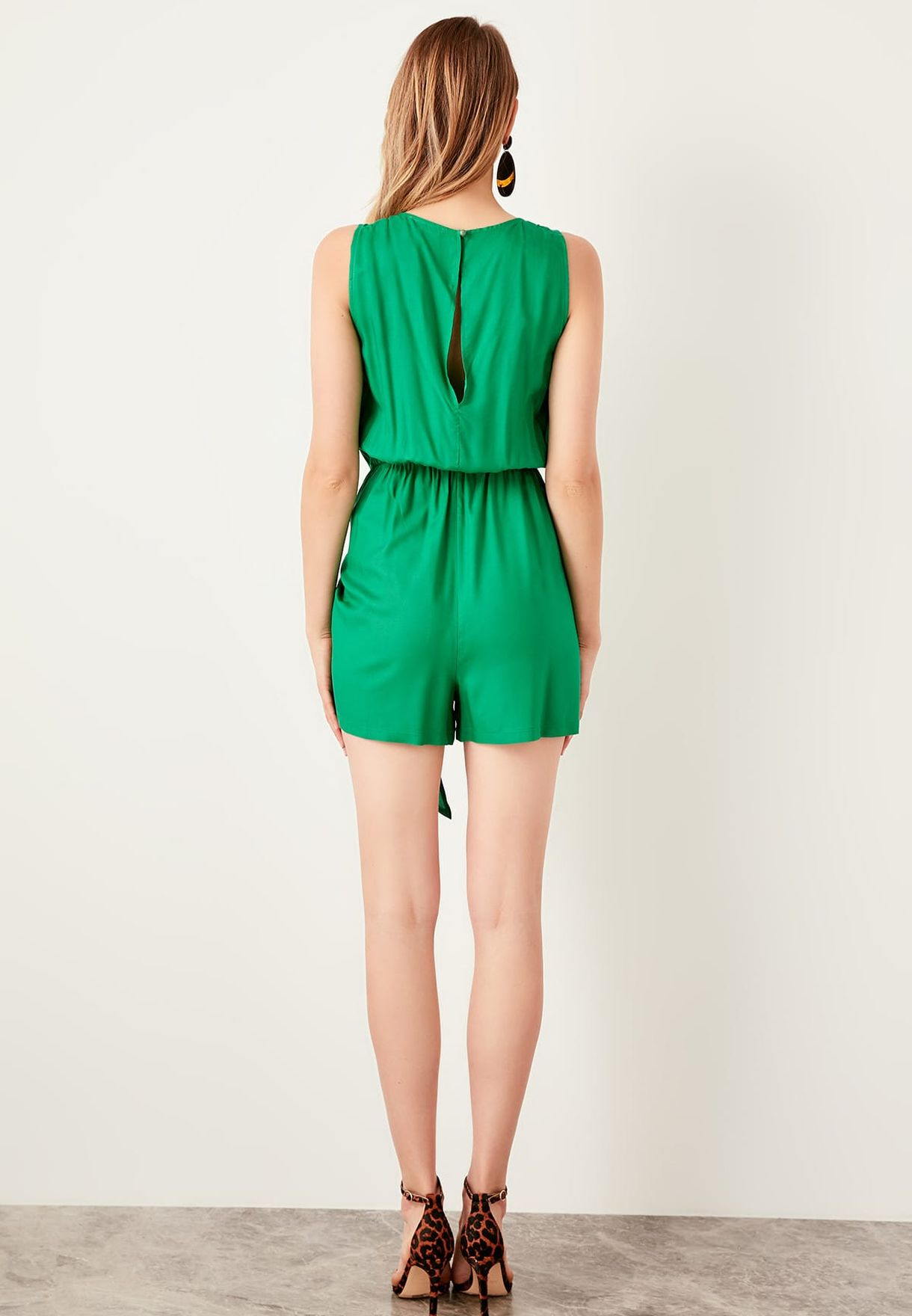 High Neck Playsuit